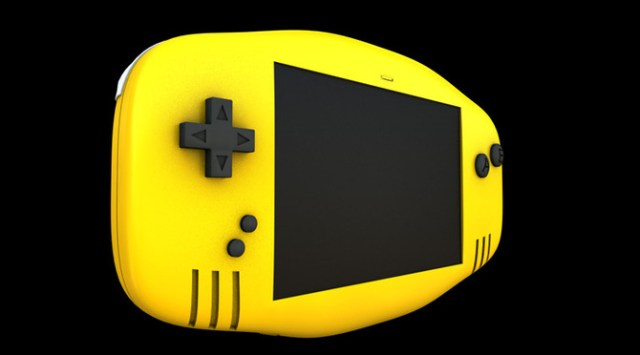 Consola Portatil Modelada en Cinema 4D