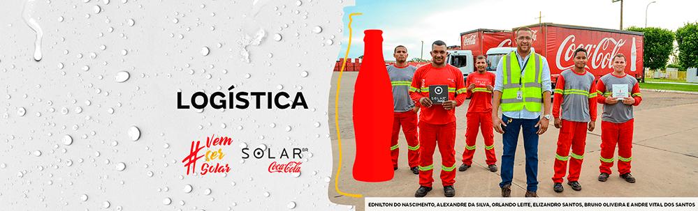 Solar Coca-Cola abre vaga para Auxiliar de Expedição em Simões Filho 1