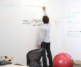 Dry Erase Whiteboard Paint