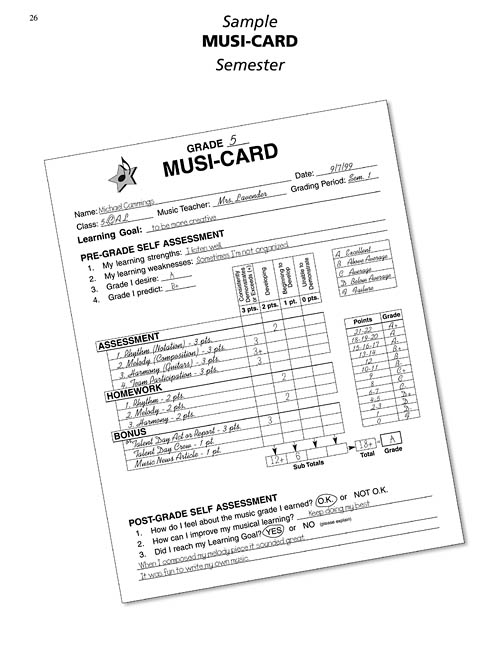 Ultimate Music Assessment and Evaluation Sheet Music by