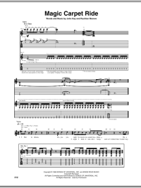 Magic Carpet Ride by Steppenwolf - Guitar Tab - Guitar ...