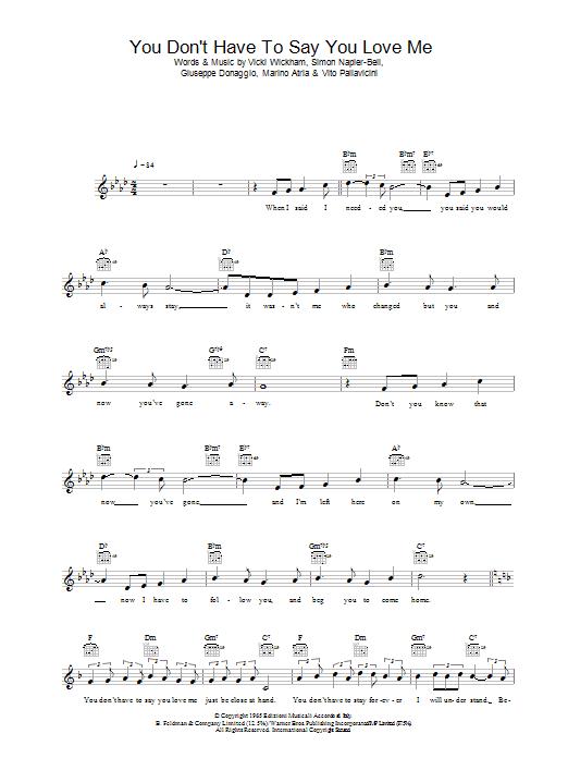 Please Don't Say You Love Me Chord : please, don't, chord, Išeikvojimas, Rizikuoja, Pasitraukti, Chords, Yenanchen.com
