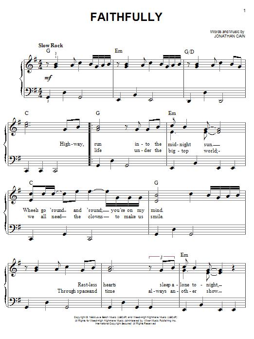 Journey When You Love Woman Lyrics