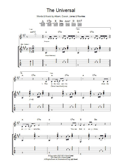 The Universal  Sheet Music Direct