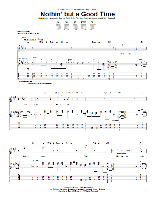 Something To Believe In Chords