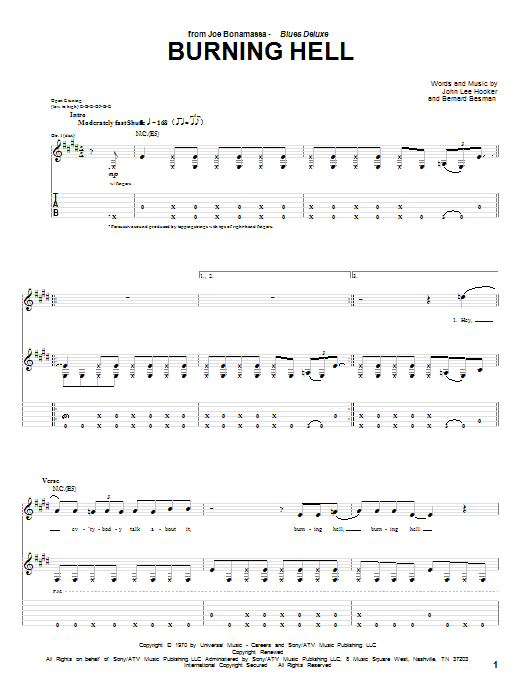 Love Me Two Times Guitar Tab