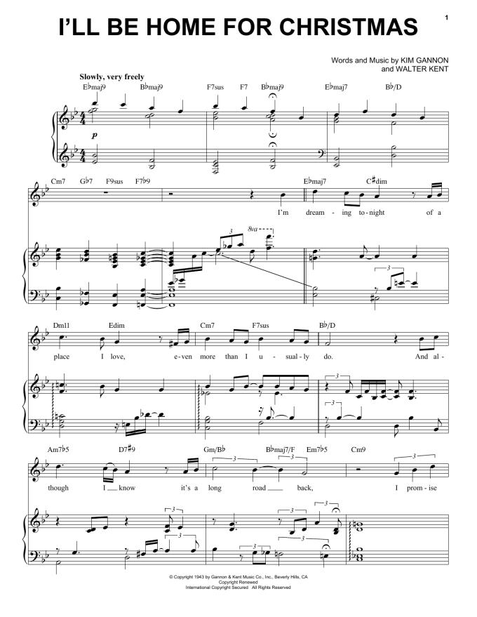 White Christmas Piano Chords Michael Buble Christmaswalls