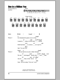 One In A Million You   Sheet Music Direct