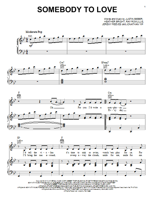 Unique Somebody To Love Guitar Chords Photo - Beginner Guitar Piano ...