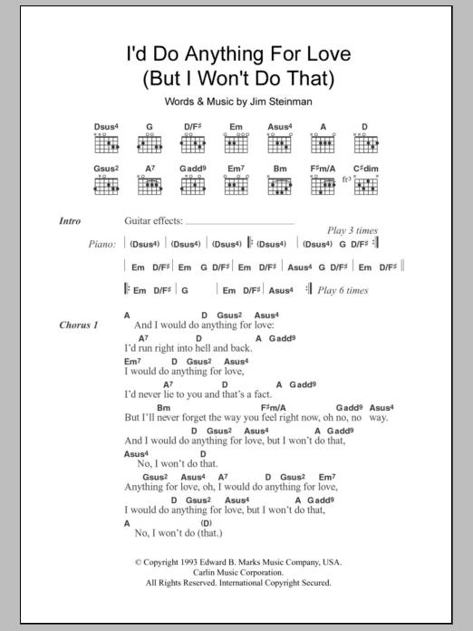 Easy Guitar Love Song
