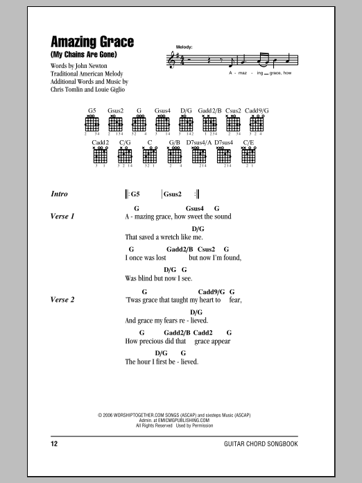 Amazing Chords Love