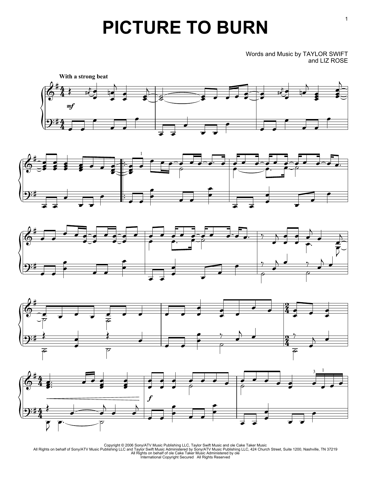 Fearless By Taylor Swift Chords