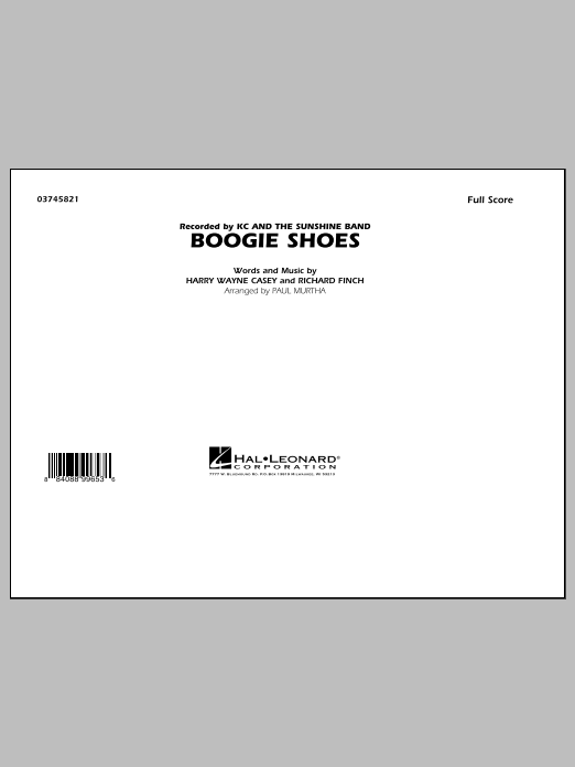 Murtha Boogie Shoes Sheet Music Complete Collection