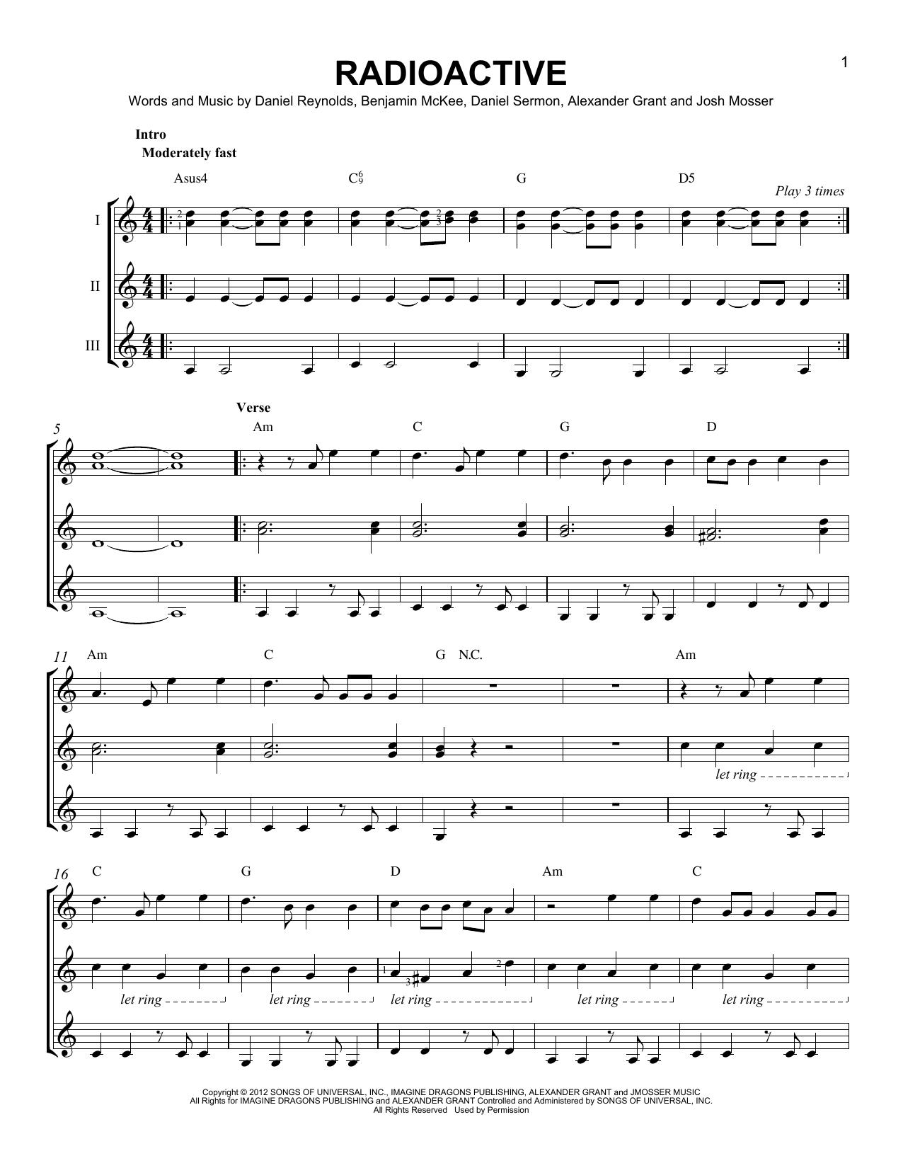 Dorable Imagine Dragons Guitar Chords Gift Beginner Guitar Piano