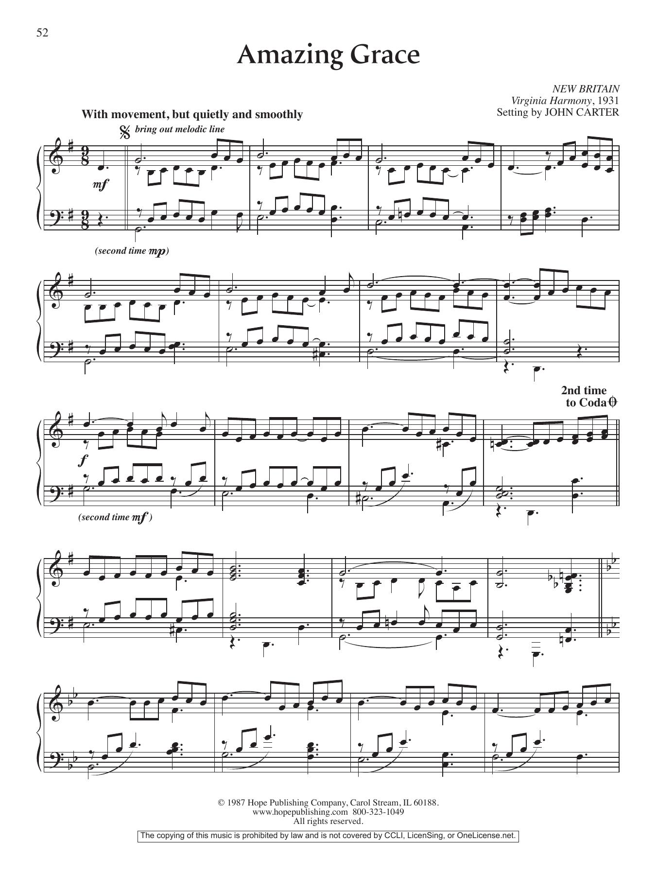 Yamaha Musicsoft Amazing Grace