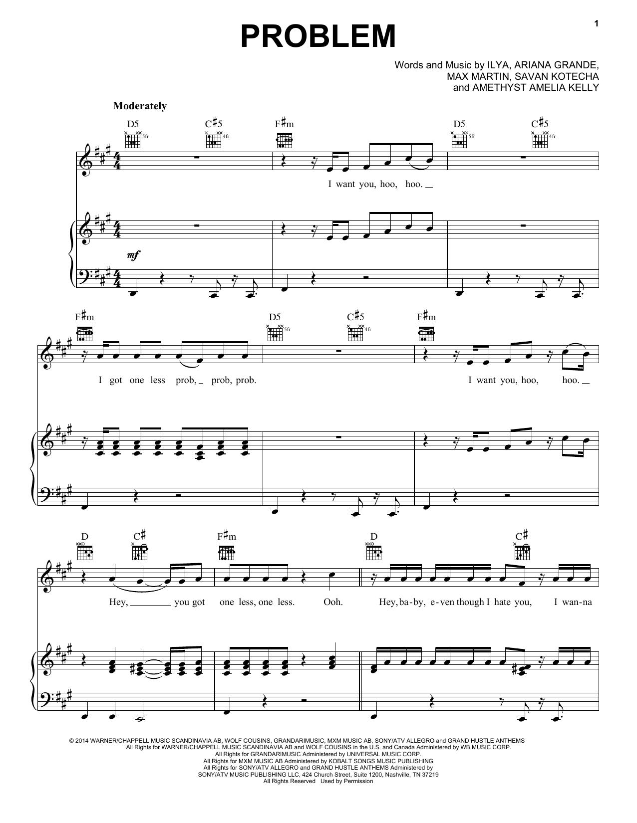Pentatonix Problem Sheet Music