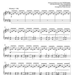 Christmas Light Coldplay Lyrics 2 Way Wiring Diagram For Lights Atlas Sheet Music Direct
