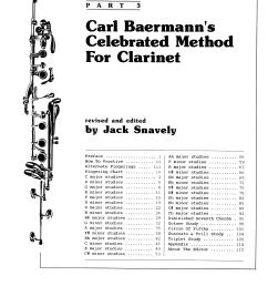 carl baermann s celebrated method for clarinet part 3 at stanton s sheet music [ 1304 x 1800 Pixel ]