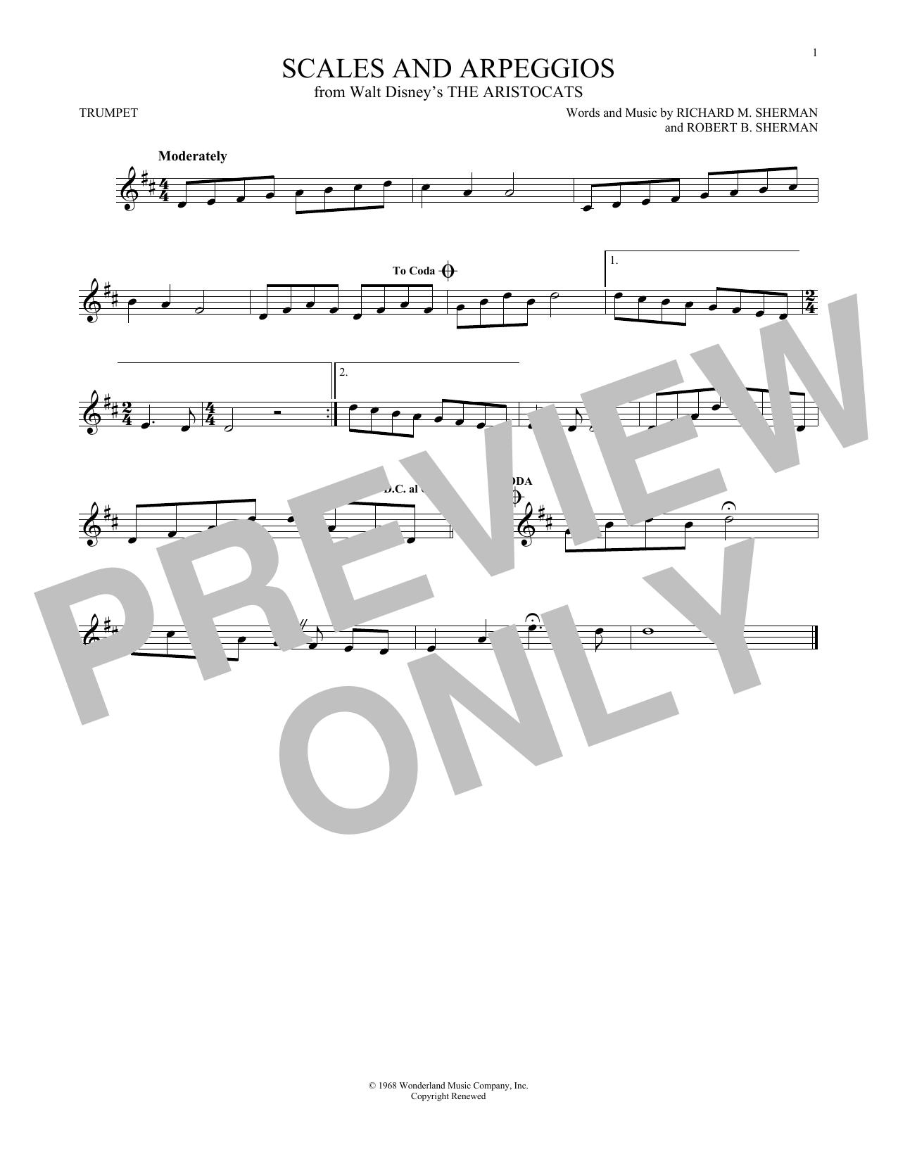 Trumpet Sheet Music O Christmas Tree