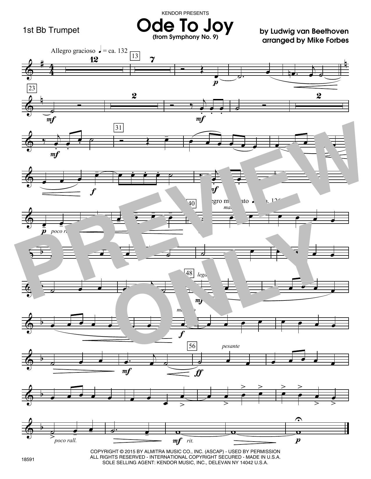 Ode To Joy From Symphony No 9