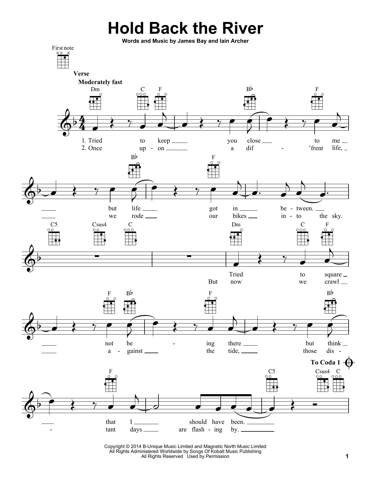 Chord Hold Back The River : chord, river, River, James, Ukulele, Guitar, Instructor