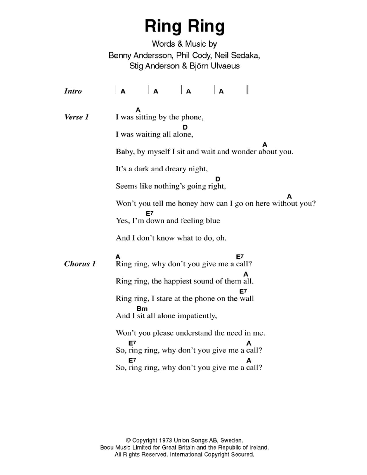 Bing Crosby White Christmas Sheet Music