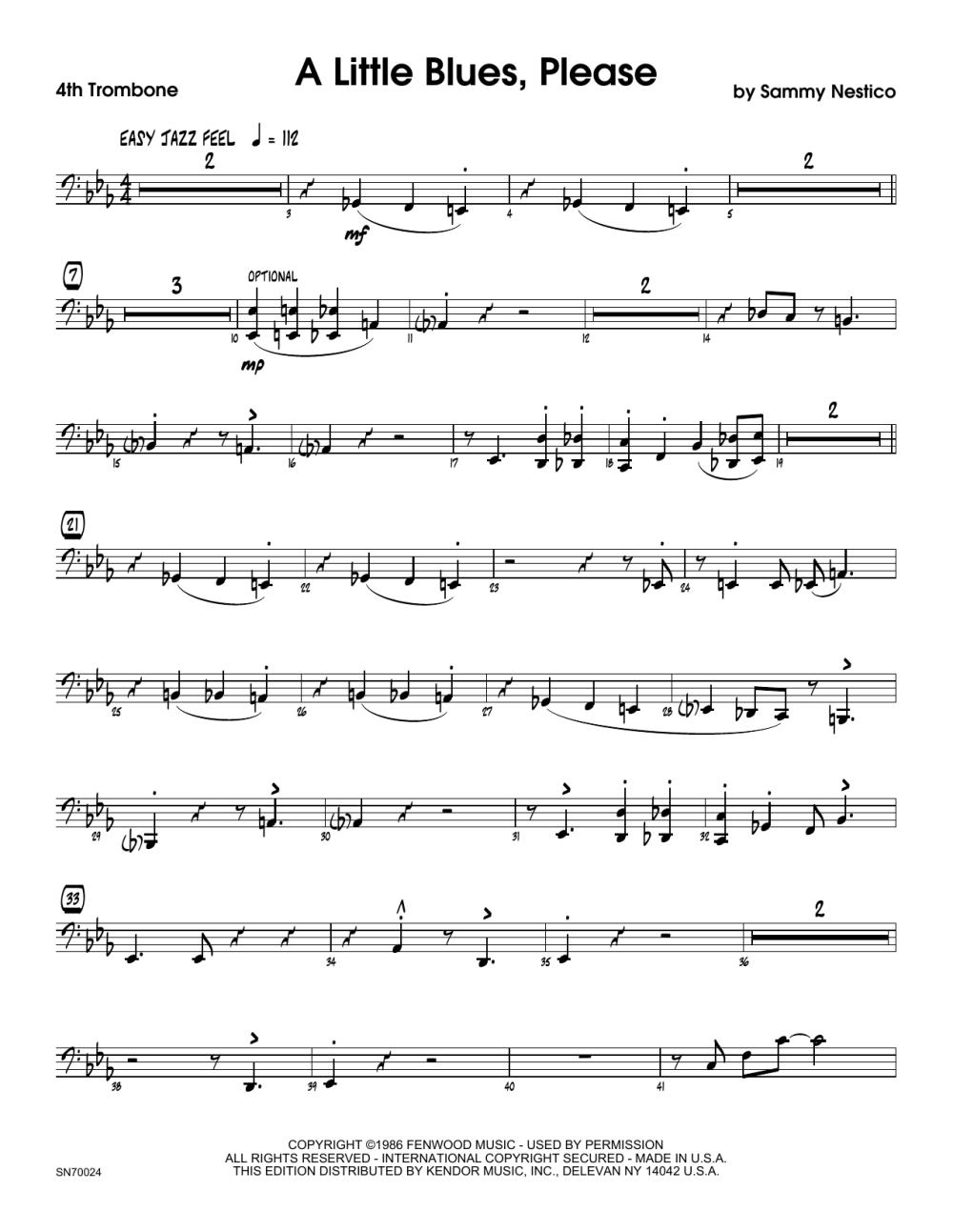 medium resolution of A Little Blues