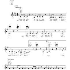 Christmas Light Coldplay Lyrics Cat 3 Wiring Diagram Rj11 Lights Sheet Music