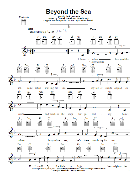Moon River Guitar Chords