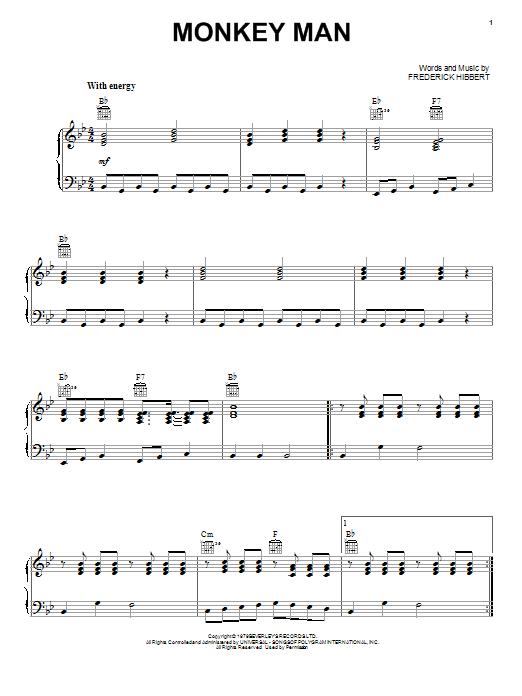 Monkey Man  Sheet Music Direct