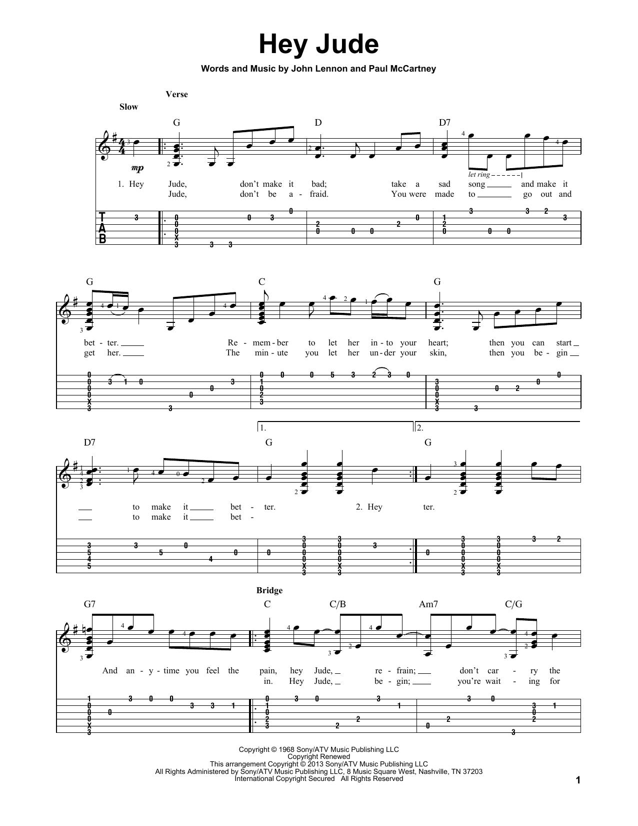 Funky Ukulele Chords Hey Jude Sketch Beginner Guitar Piano Chords