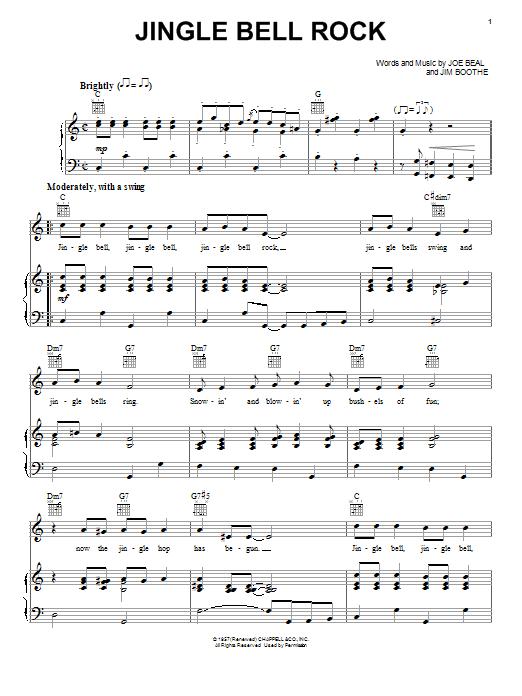 Jingle Bell Rock Violin Notes