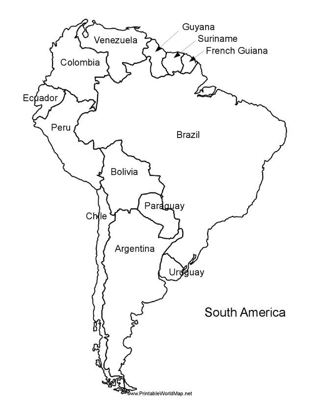 Blank Map Of Belize