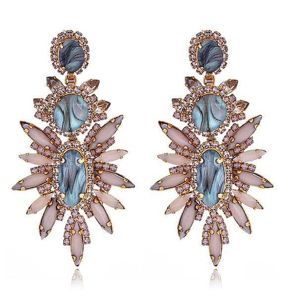 Elizabeth Cole Blush Statement Earrings