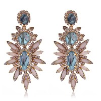 Elizabeth Cole Blush Statement Earrings