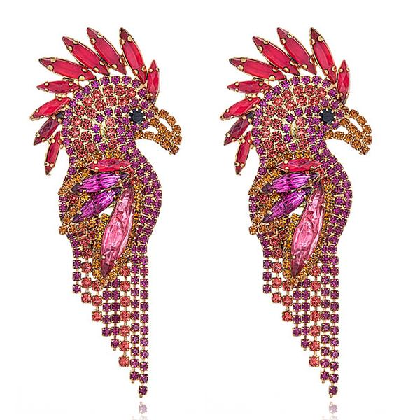 Elizabeth Cole Elizabeth Cole Parrot Earrings