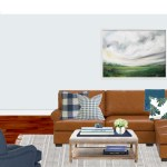 Contemporary Classic Farmhouse Transitional Living Room