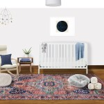 Eclectic Bohemian Midcentury Modern Nursery Design By