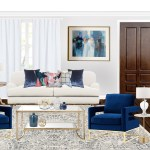 Contemporary Eclectic Glam Living Room Design By Havenly