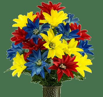 silk flowers heavens maid