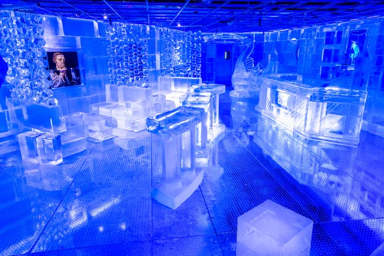 Music At Frost Ice Bar, Paintnite, And More ArtWeek Boston Events