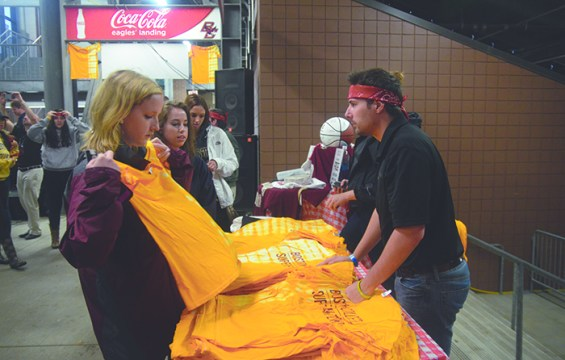 'SuperFan Zone' Hosted 791 Gold Pass Holders At USC Football Game