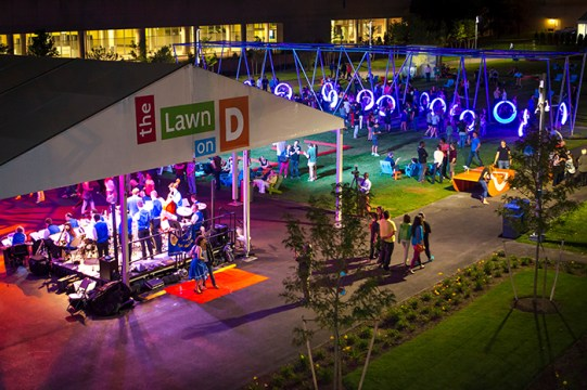 The Lawn On D Provides Art, Drinks In Outdoor Space