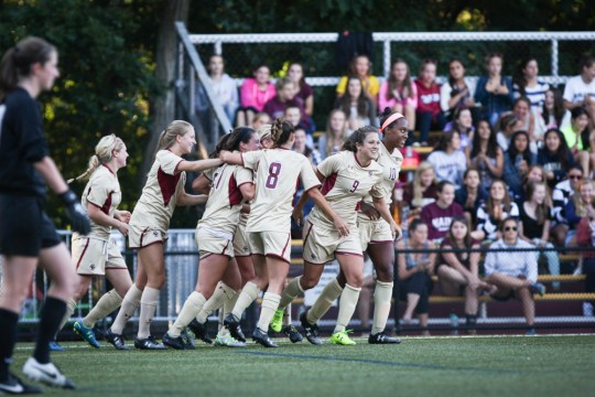 Women's Soccer Stars Swaby And McCaffrey Get Chance On National Stage