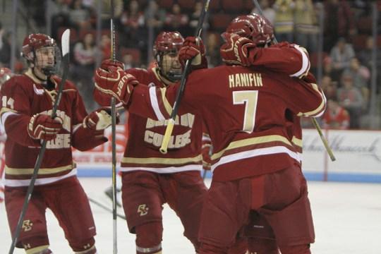 Freshman Friday: Trio Of Young Eagles Exacts Revenge On Boston University