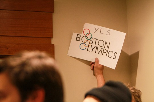 Olympic-Sized Questions: Hundreds Gather To Discuss Boston 2024