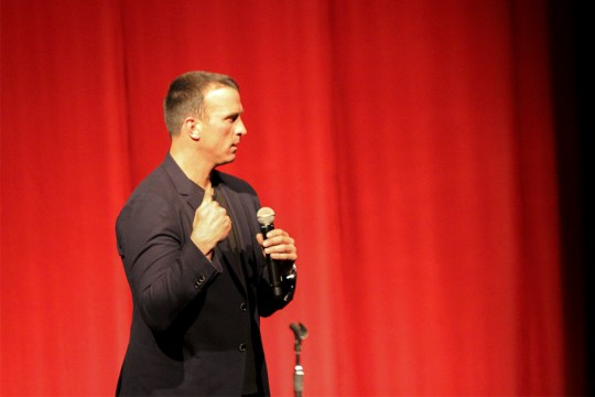 Chris Herren, BC '97, Brings Lessons In Sobriety Back To Chestnut Hill