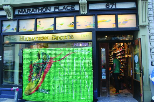 Foot By Foot, Marathon Sports Provides Sole Of The Race