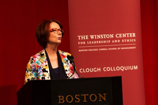 Julia Gillard, Former Australian Prime Minister, On Leadership