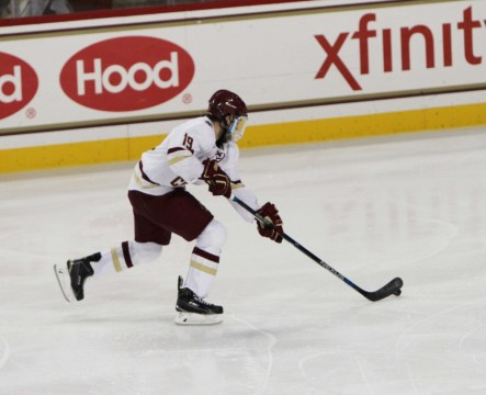 Demko Becomes First At BC To Have Three Consecutive Shutouts Since 2006